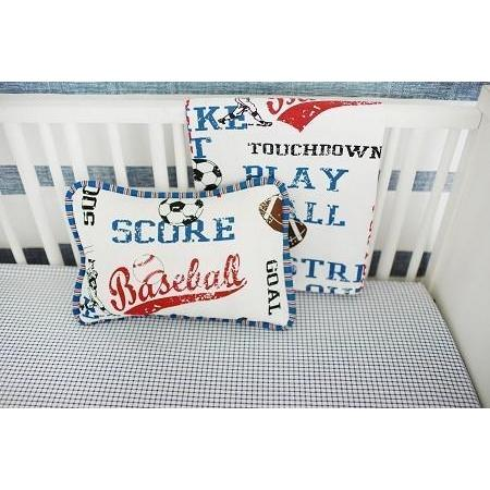 Pillow | All Star Vintage Sports-Pillow-Jack and Jill Boutique