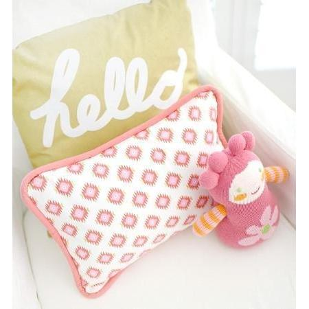Pillow | Aztec Baby in Pink & Gold-Pillow-Jack and Jill Boutique