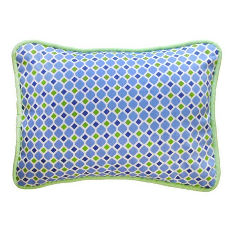 Pillow | Boardwalk Blue and Green-Pillow-Jack and Jill Boutique