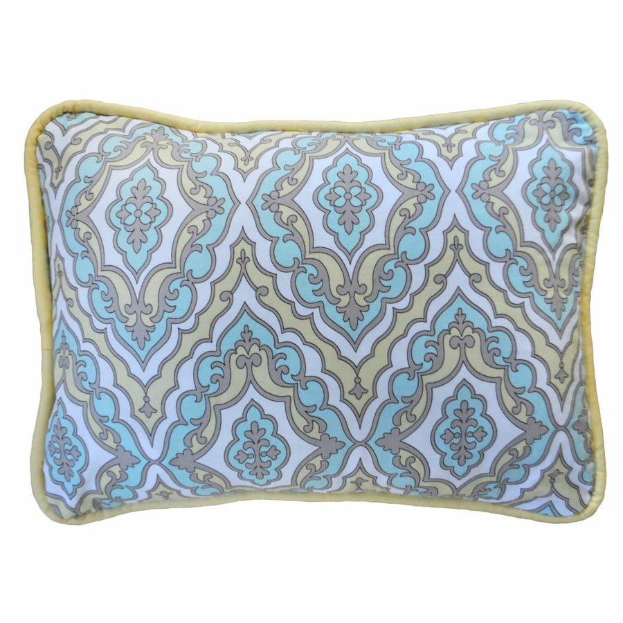 Pillow | Dreamweaver Yellow and Aqua-Pillow-Jack and Jill Boutique
