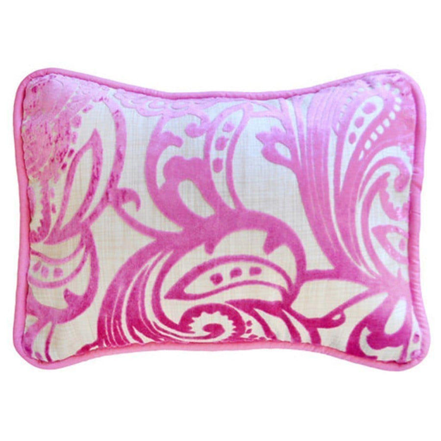 Pillow | French Quarter White and Pink-Pillow-Jack and Jill Boutique