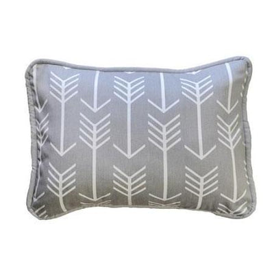 Pillow | Gray Arrow Wanderlust in Gray-Pillow-Jack and Jill Boutique