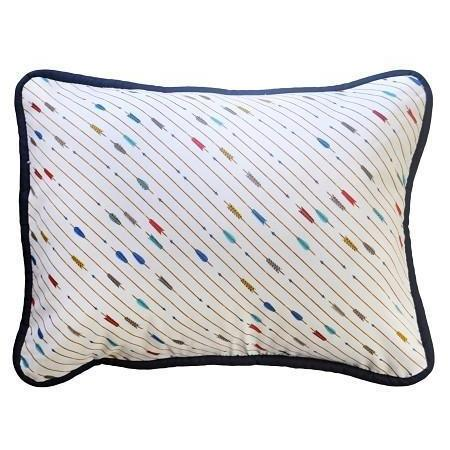 Pillow | Happy Camper Navy and White-Pillow-Jack and Jill Boutique