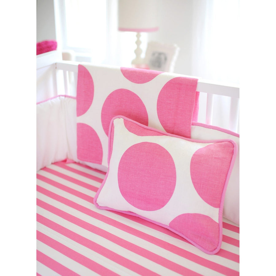 Pillow | Hot Pink Spot On Fuchsia-Pillow-Jack and Jill Boutique