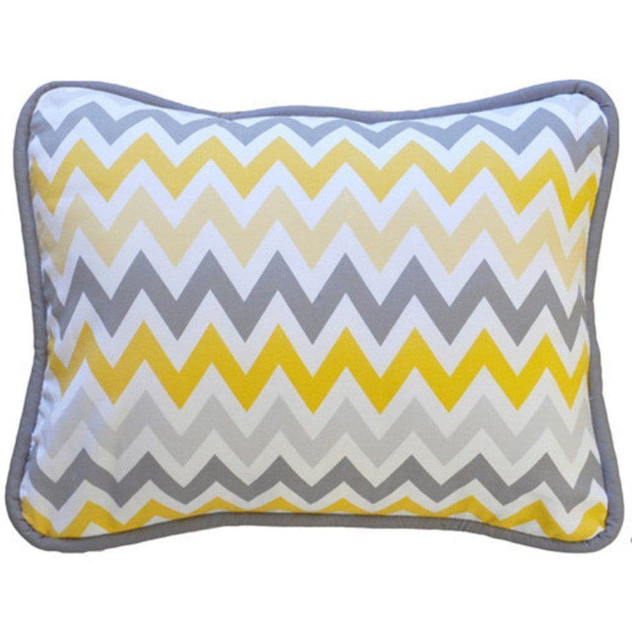 Pillow | Mellow Yellow Yellow and Grey-Pillow-Jack and Jill Boutique