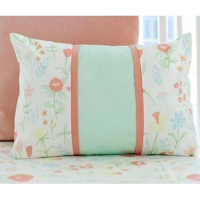 Pillow | Mint Spring Floral-Pillow-Jack and Jill Boutique