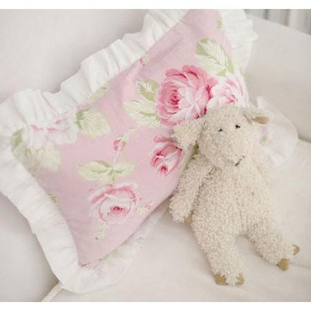 Pillow | Pink Floral Pink Desert Rose