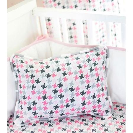 Pillow | Pink & Gray Paper Moon