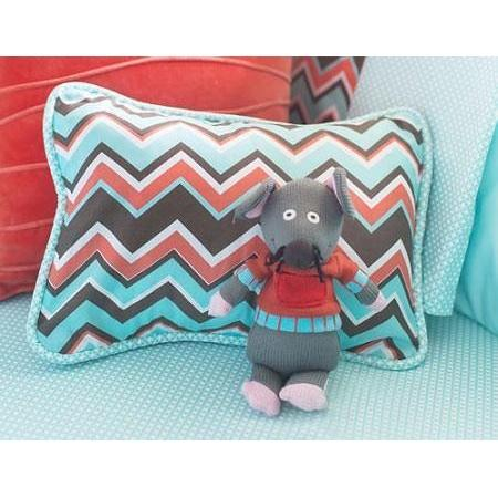 Pillow | Piper in Aqua-Pillow-Jack and Jill Boutique