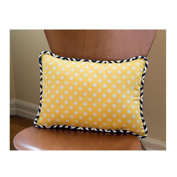 Pillow | Sam – Sunny Yellow Luxury Baby Bedding Set-Pillow-Jack and Jill Boutique