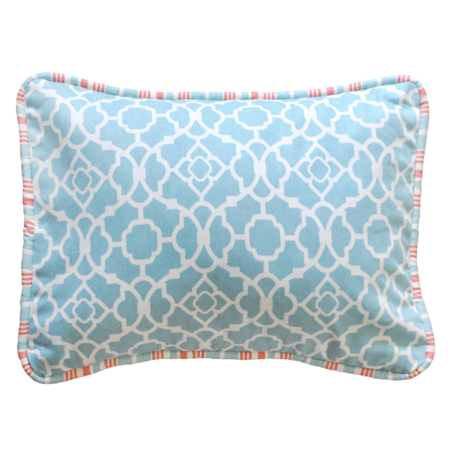 Pillow | Scout Mango and White-Pillow-Jack and Jill Boutique