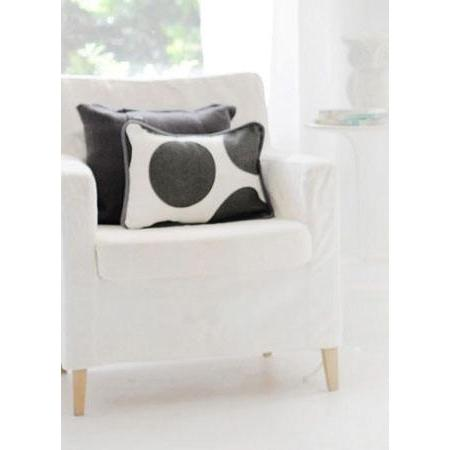 Pillow | Spot On Charcoal-Pillow-Jack and Jill Boutique