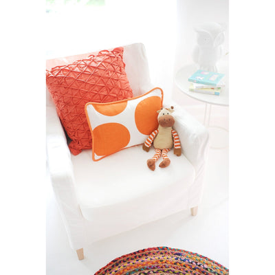 Pillow | Spot On Tangerine-Pillow-Jack and Jill Boutique