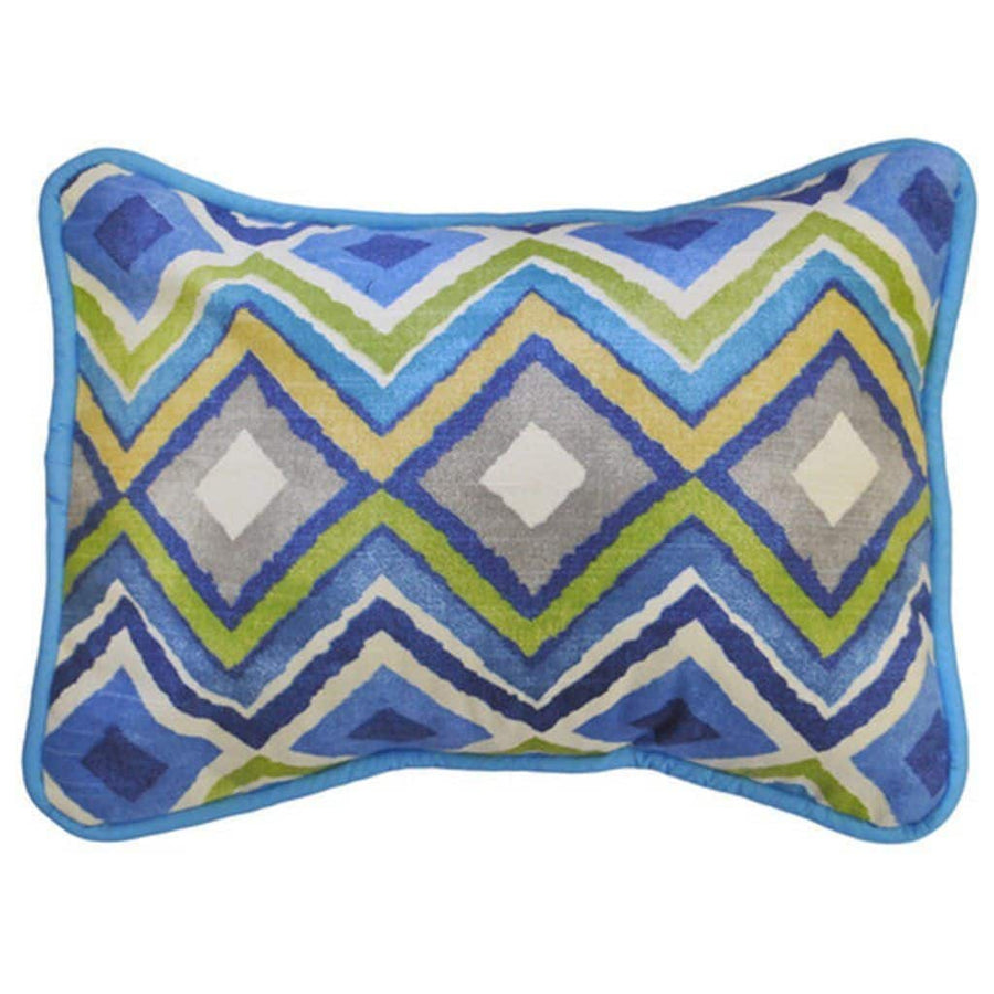 Pillow | Street of Dreams Blue and Yellow