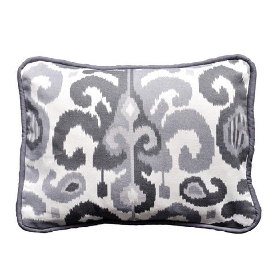 Pillow | Urban Ikat in Gray