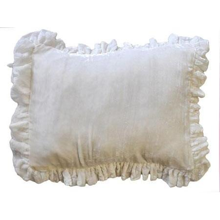 Pillow | Velvet Baby in Ivory-Pillow-Default-Jack and Jill Boutique
