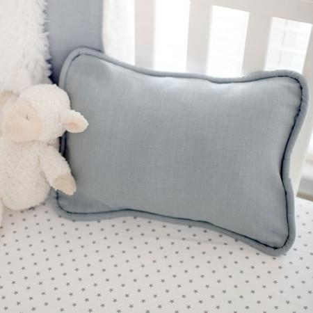 Pillow | Washed Linen in Gray-Pillow-Jack and Jill Boutique