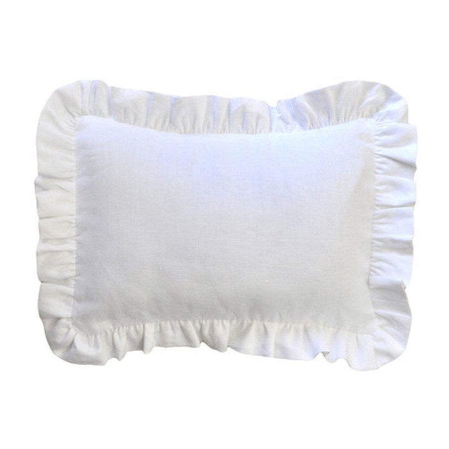 Pillow | White Linen Madison Avenue