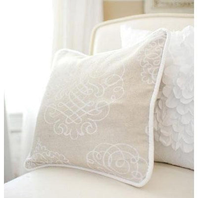 Pillow | White Pebble Moon-Pillow-Jack and Jill Boutique
