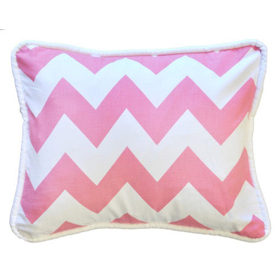 Pillow | Zig Zag Baby in Hot Pink-Pillow-Jack and Jill Boutique