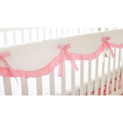 Pink Bumperless Crib Baby Bedding Set-Crib Bedding Set-Default-Jack and Jill Boutique