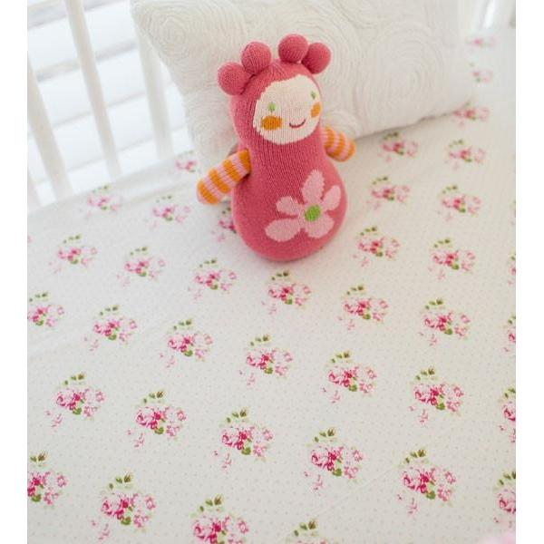 Pink Ombre Baby Bedding Set