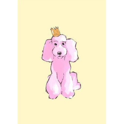 Pink Poodle | Canvas Wall Art-Canvas Wall Art-Jack and Jill Boutique