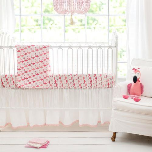 Pink Urban Flamingo Baby Bedding Set Jack And Jill Boutique