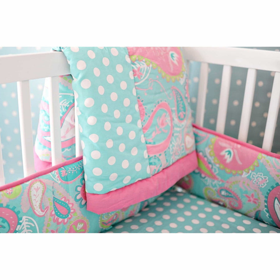 Pixie Baby Bedding in Aqua