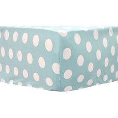 Pixie Baby Bedding in Aqua-Crib Bedding Set-My Baby Sam-Jack and Jill Boutique