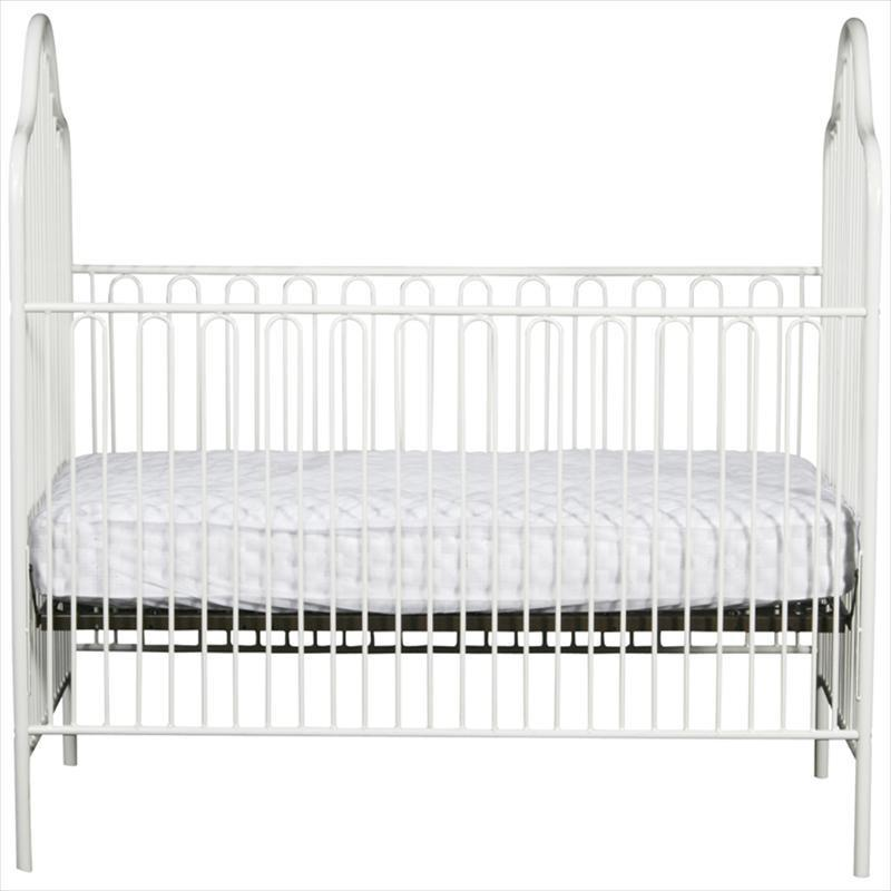 Powder Coated Iron Stationary Crib-Crib-Default-Jack and Jill Boutique