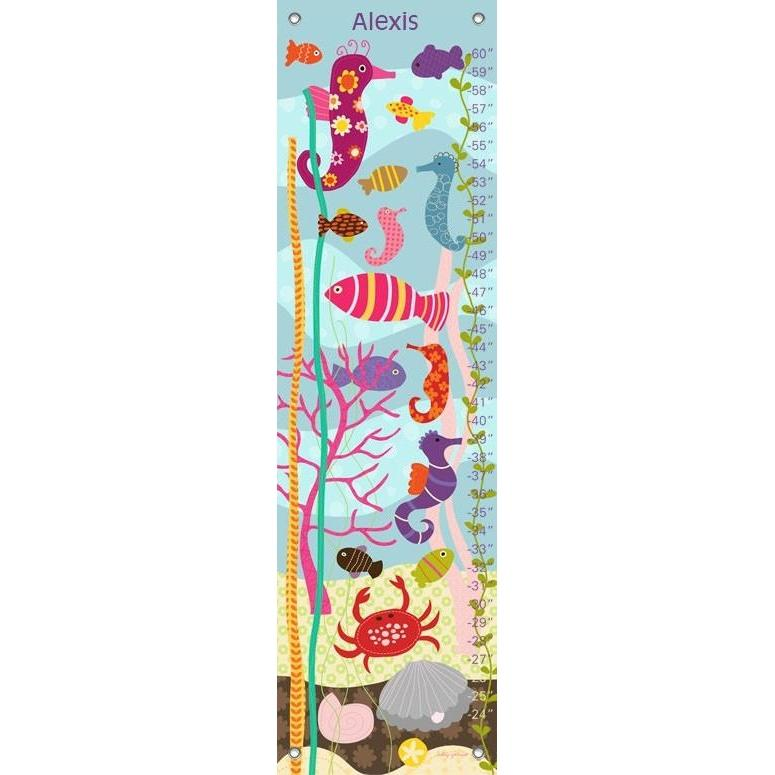 Pretty Ocean Growth Charts-Growth Charts-Default-Jack and Jill Boutique