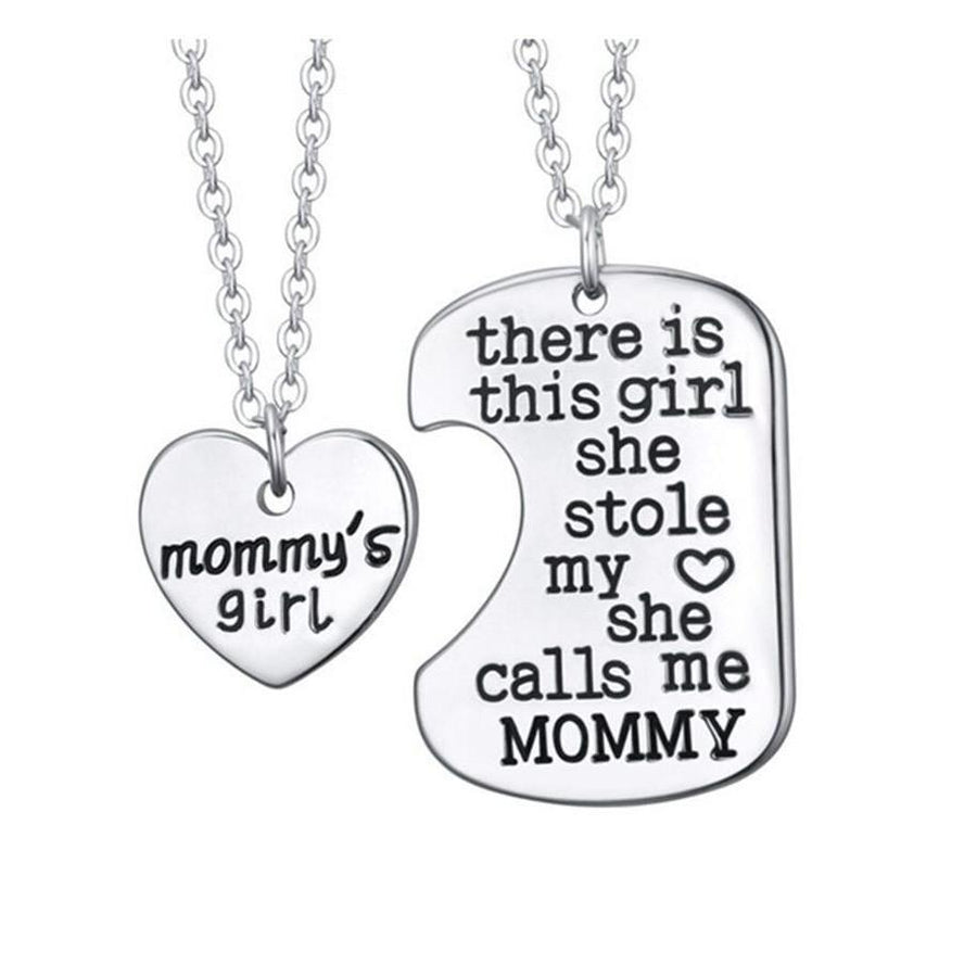Mommy's Girl Pendant Necklace-Jewelry-Jack and Jill Boutique