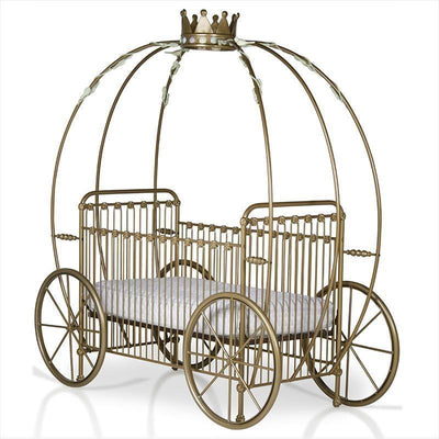 Pumpkin Display Crib w/ Crown-Crib-Jack and Jill Boutique