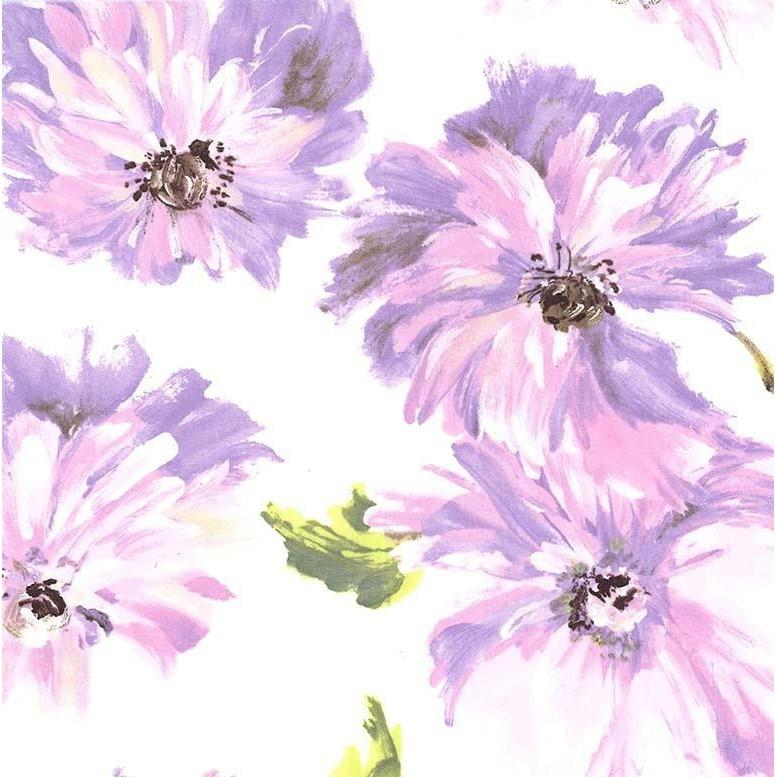 Purple Blossom Tallulah Fabric | 100% Cotton