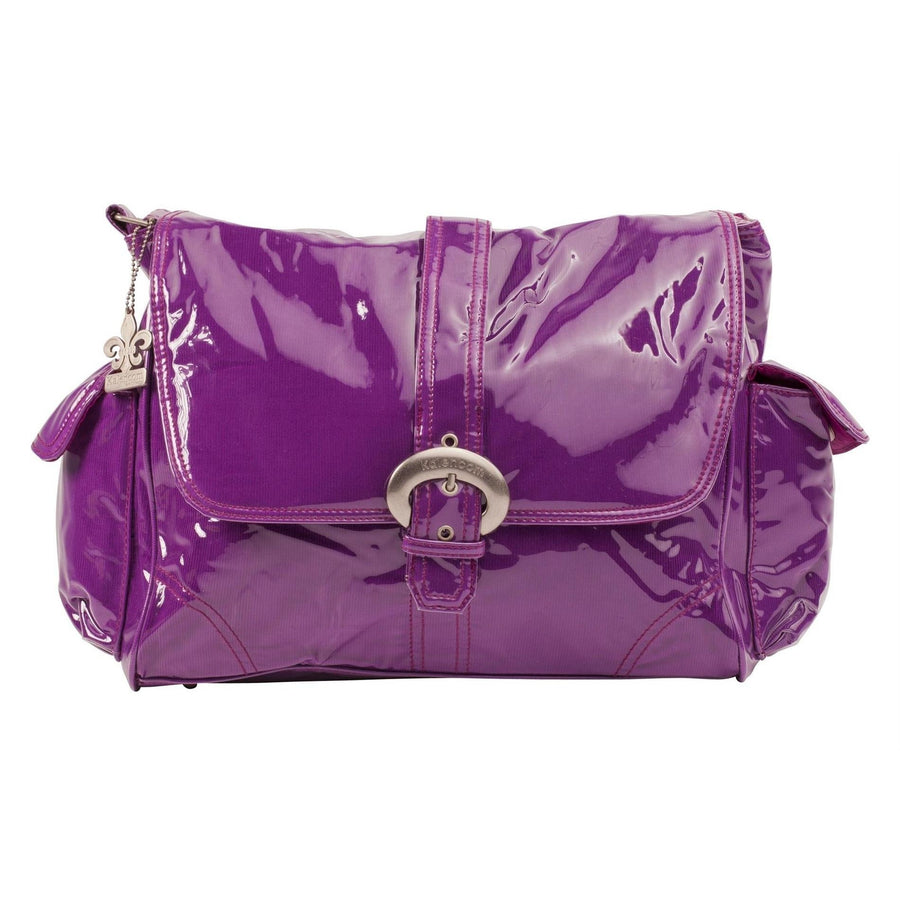 Purple Corduroy Laminated Buckle Diaper Bag | Style 2960 - Kalencom-Diaper Bags-Default-Jack and Jill Boutique