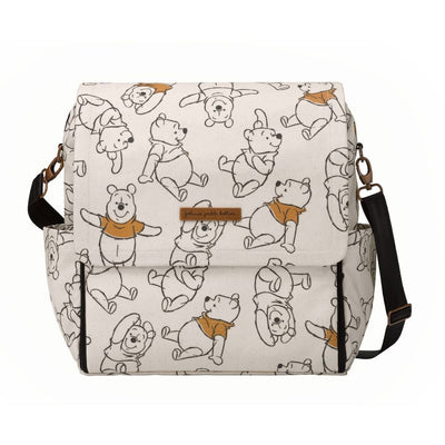 Boxy Backpack Diaper Bags | Petunia Pickle Bottom-Diaper Bags-Sketchbook Winnie the Pooh-Jack and Jill Boutique