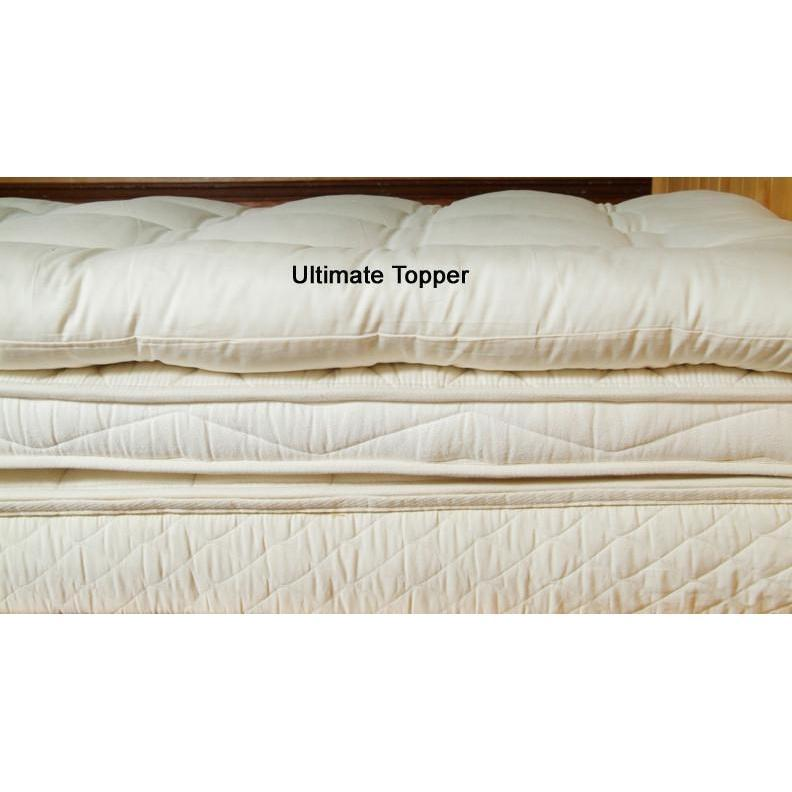 Quilted Mattress Topper - Deep Sleep | Holy Lamb Organics-Mattress Topper-Jack and Jill Boutique