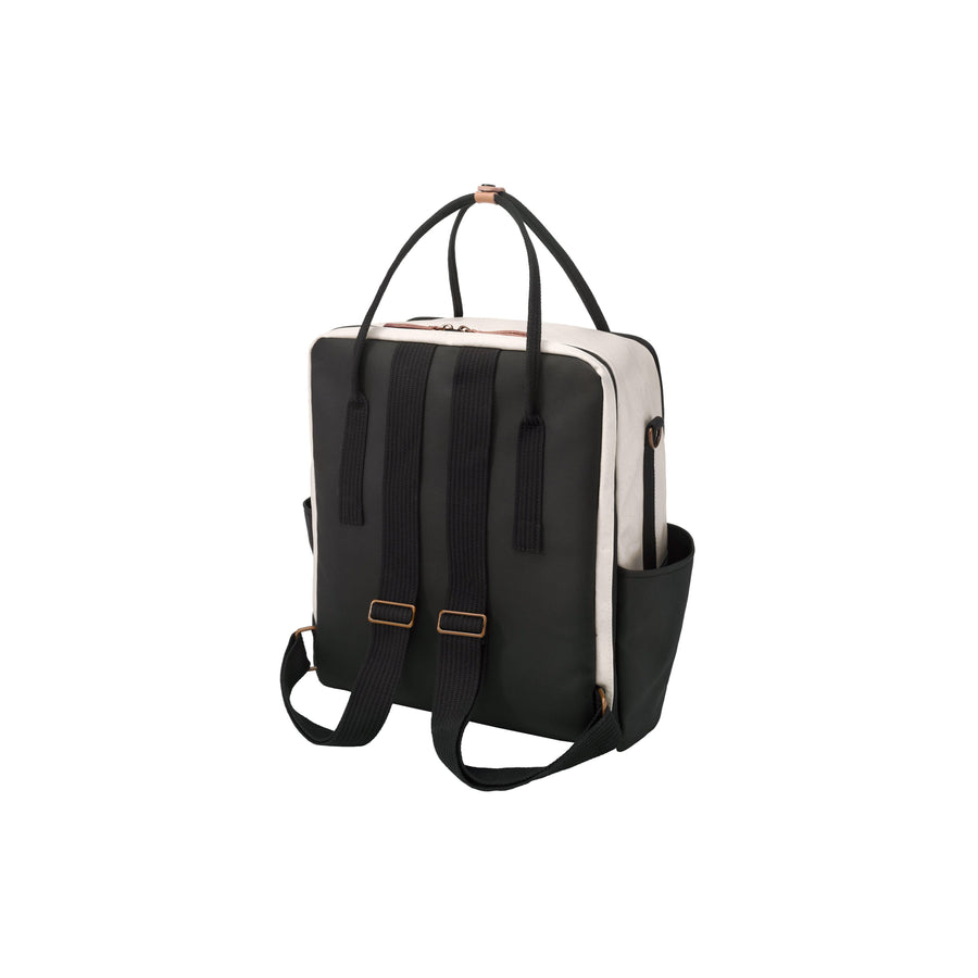 Inter-mix Backpack In Birch/Black | Petunia Pickle Bottom