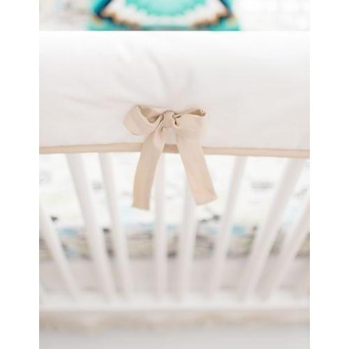 Rail Cover | Cactus Desert Dawn in Earth Baby Bedding Set-Crib Rail Cover-Jack and Jill Boutique