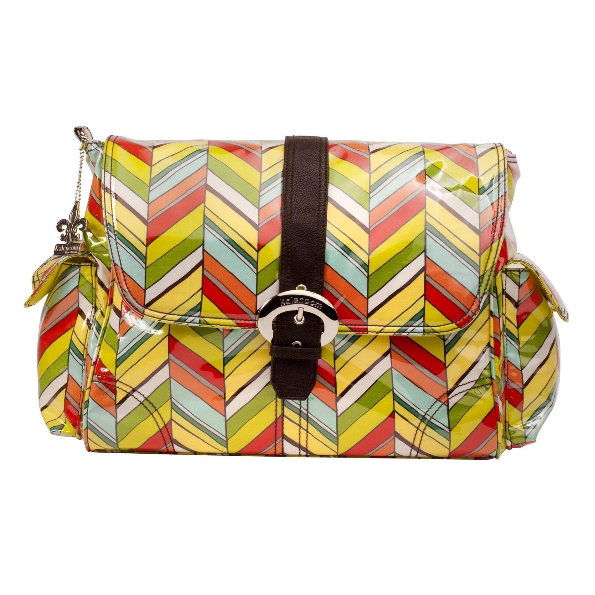 Rainforest Laminated Buckle Diaper Bag | Style 2960 - Kalencom-Diaper Bags-Default-Jack and Jill Boutique