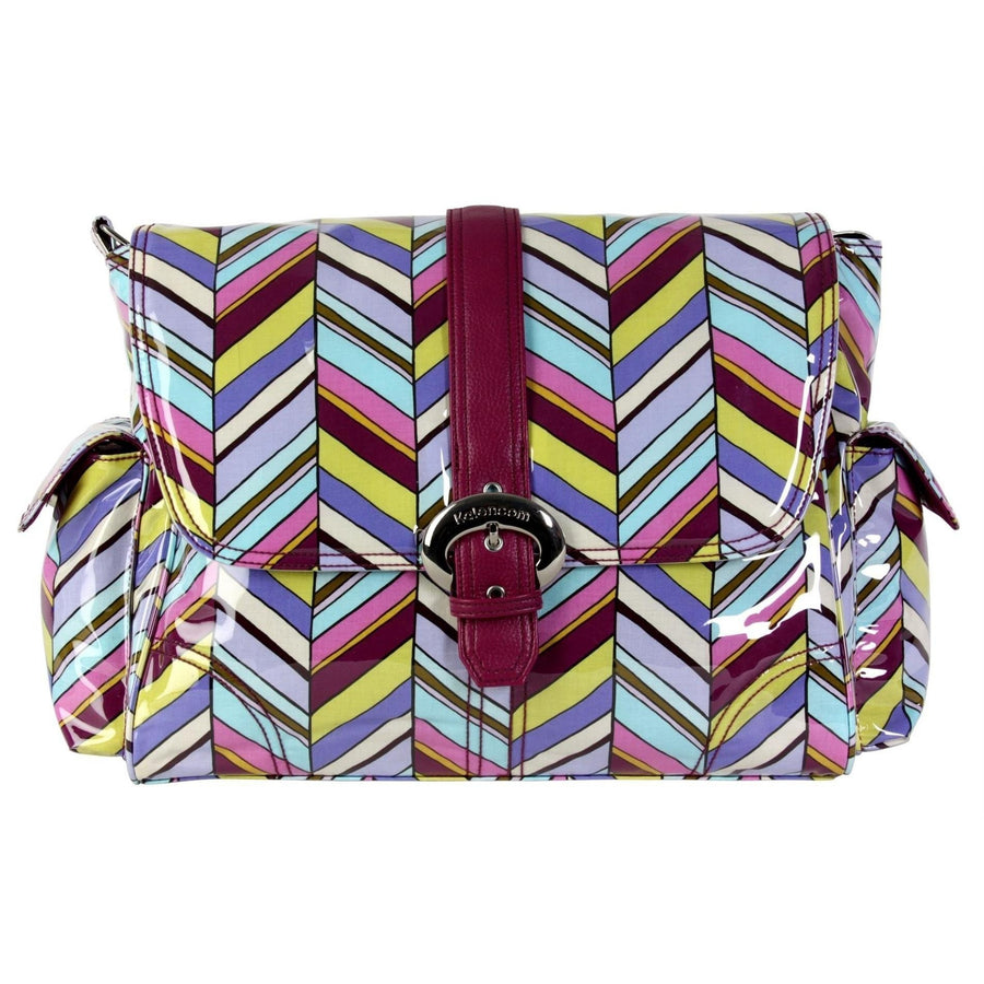 Rainforest Pastille Laminated Buckle Diaper Bag | Style 2960 - Kalencom-Diaper Bags-Default-Jack and Jill Boutique