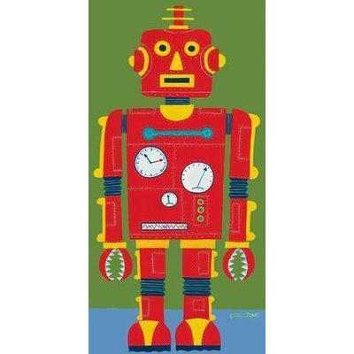 Red Robot | Canvas Wall Art-Canvas Wall Art-Jack and Jill Boutique