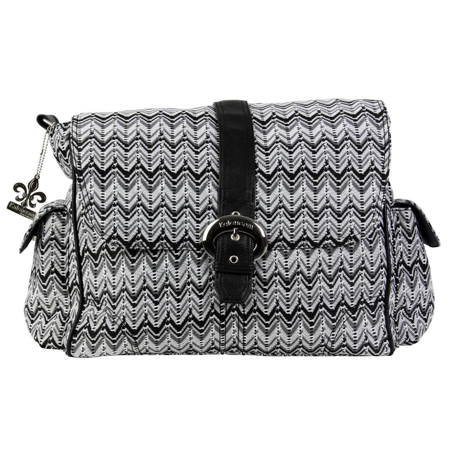 Ripples Black And White A Step Above Diaper Bag | Style 2960 - Kalencom-Diaper Bags-Default-Jack and Jill Boutique