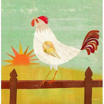 Rise and Shine Rooster | Canvas Wall Art-Canvas Wall Art-Jack and Jill Boutique
