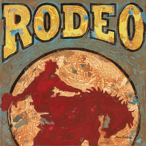 Rodeo | Cowboy Art Collection | Canvas Art Prints-Canvas Wall Art-Jack and Jill Boutique