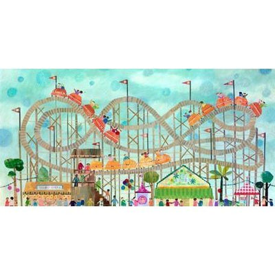 Roller Coaster Fun | Canvas Wall Art-Canvas Wall Art-Jack and Jill Boutique