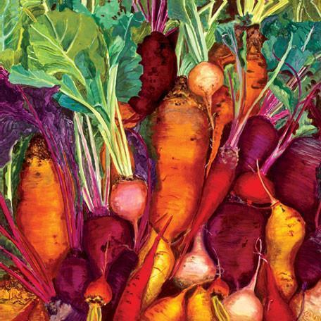 Root Vegetables | Canvas Wall Art-Canvas Wall Art-Jack and Jill Boutique