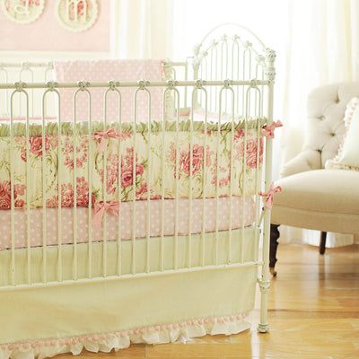 Roses for Bella Baby Bedding Set-Crib Bedding Set-Default-Jack and Jill Boutique