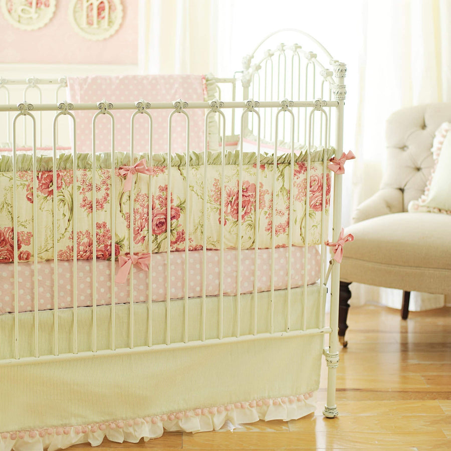 Roses for Bella Baby Bedding Set